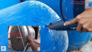cách khắc phục bồn nước inox nhựa bị rỉ