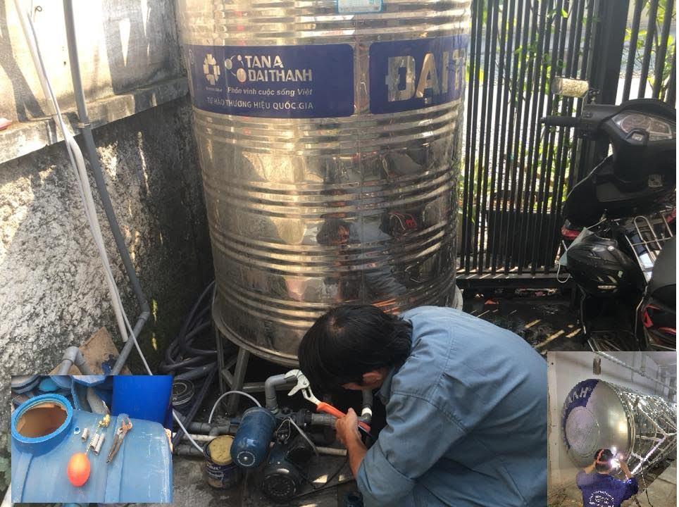 Sửa bồn nước tại nhà