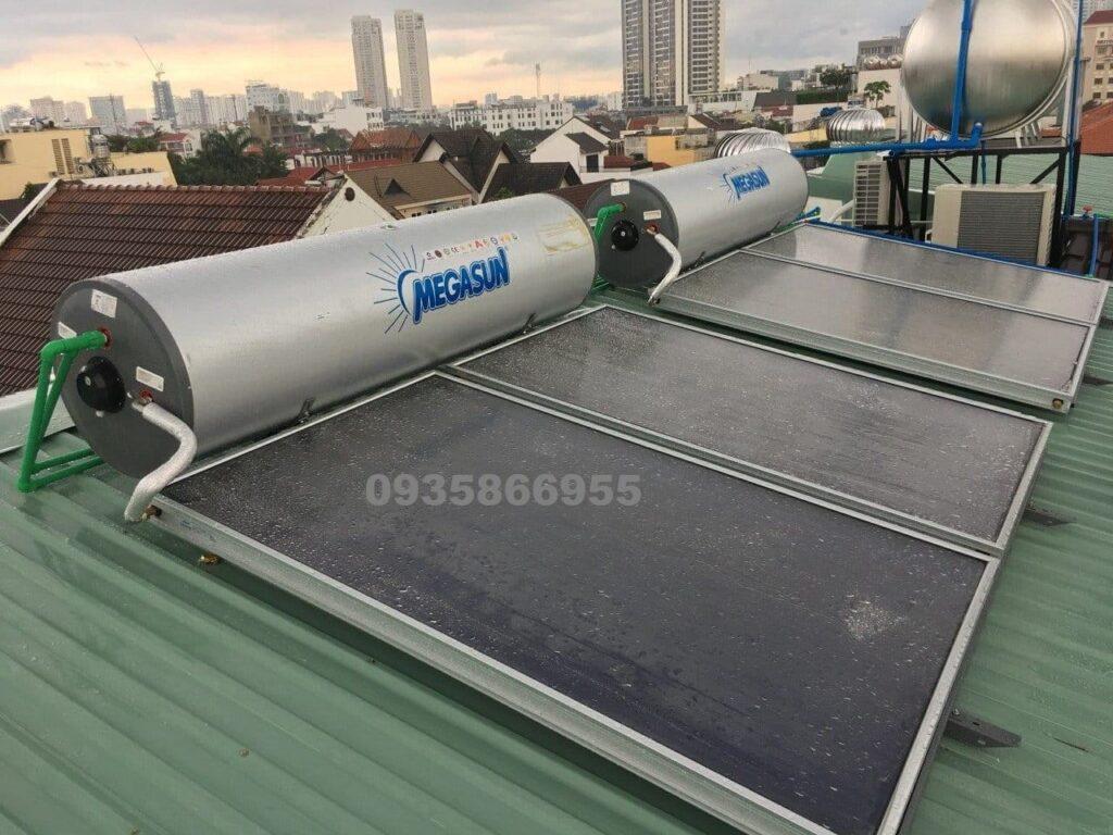 Máy nước nóng năng lượng mặt trời Megasun tphcm