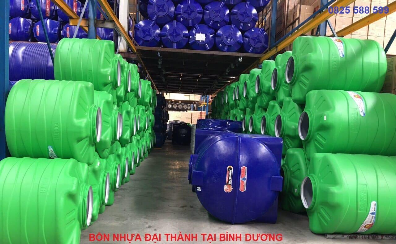 Các sản phẩm bồn nước Đại Thành Bình Dương