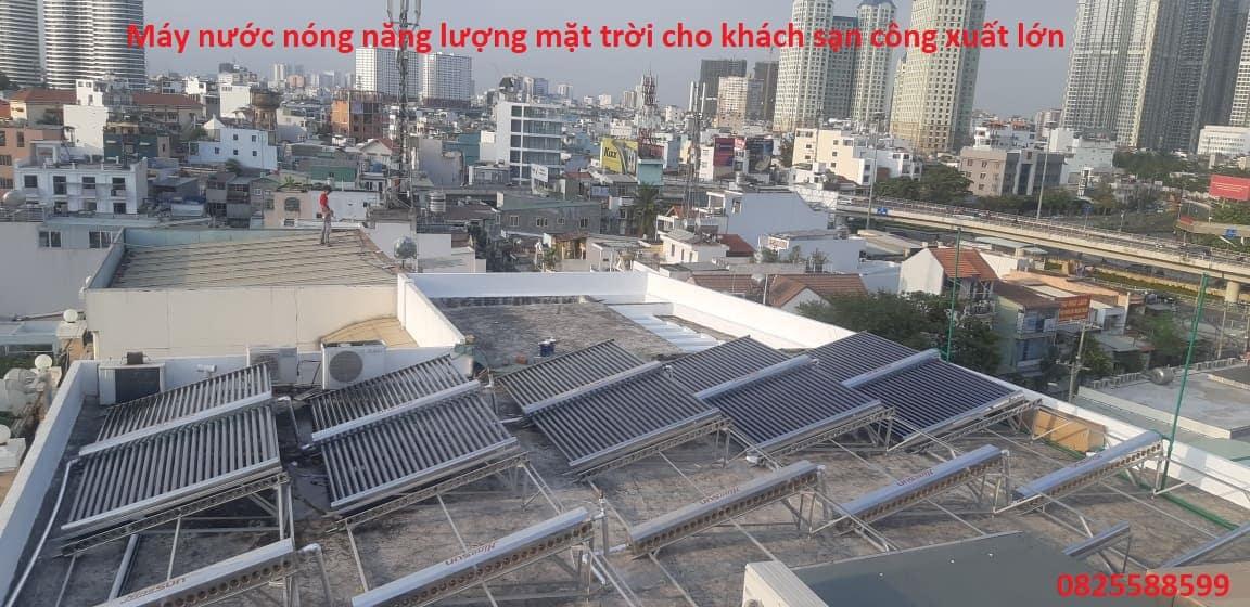 may nuoc nong nang luong mat troi cho khach san