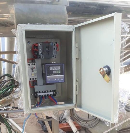 Hỗ trợ nhiệt cho máy nước nóng năng lượng mặt trời