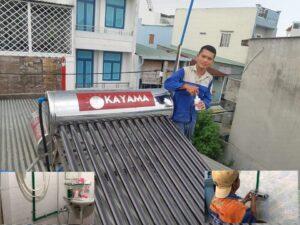 lắp máy nước nóng cho nhà cũ
