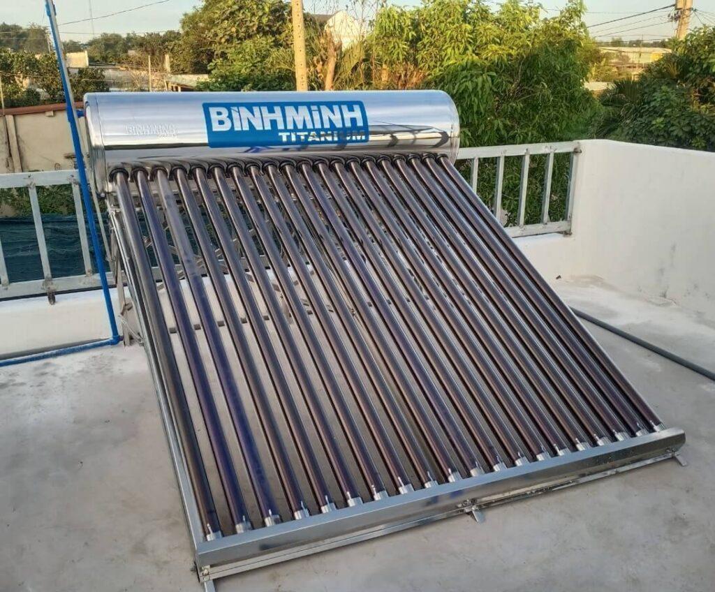 Máy nước nóng năng lượng mặt trời Bình Minh