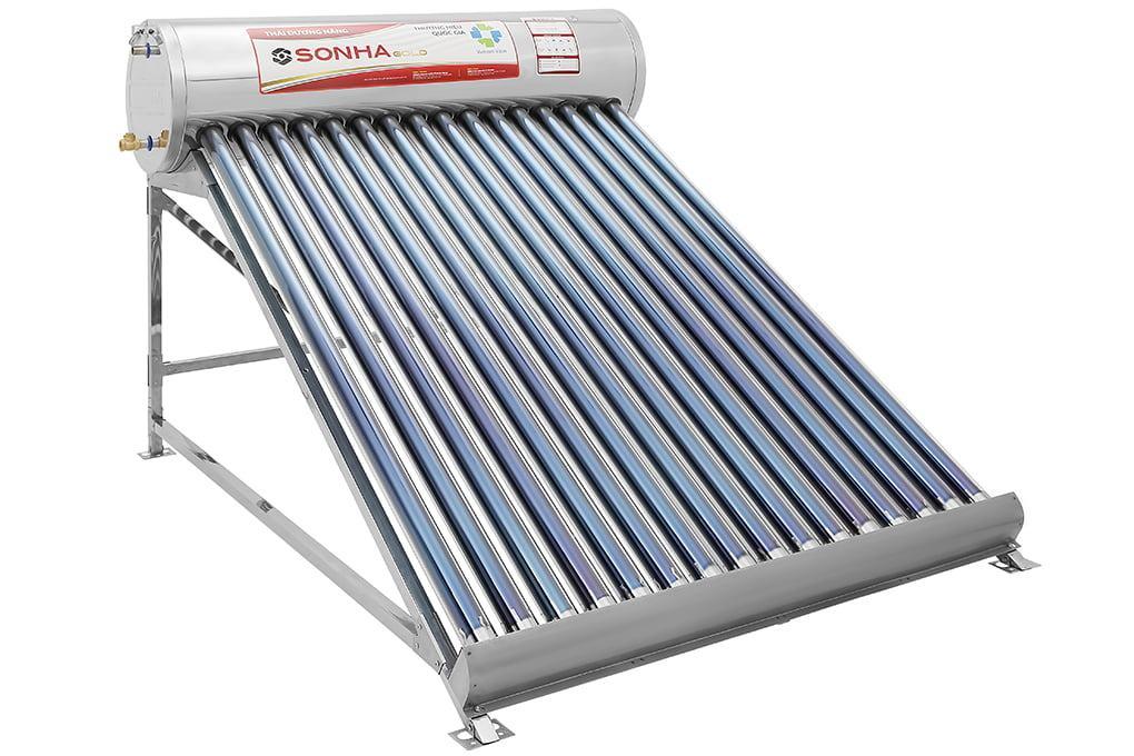 máy nước nóng năng lượng mặt trời Bình Dương