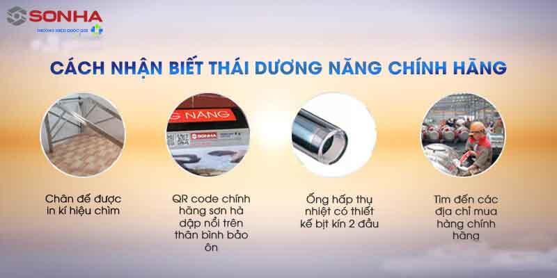 Cach nhan biet may nuoc nong nang luong mat troi son ha 1