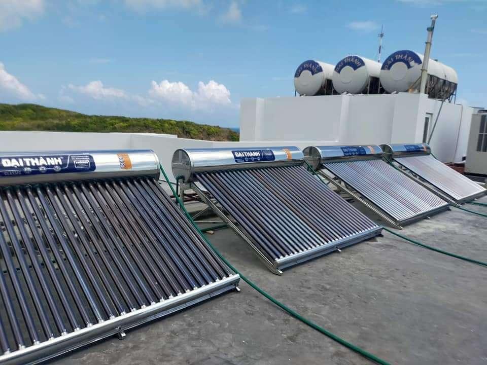 máy nước nóng năng lượng mặt trời Đại Thành