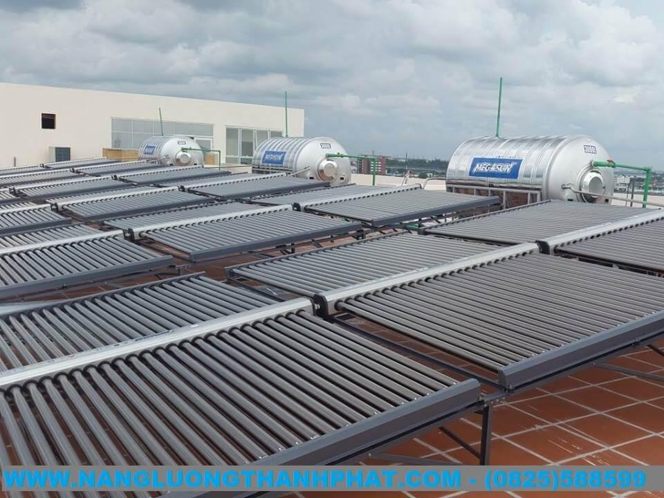 Dự án máy nước nóng năng lượng mặt trời cho khách sạn Lagi Bình Thuận