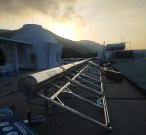 máy nước nóng năng lượng mặt trời cho khách sạn Vũng Tàu