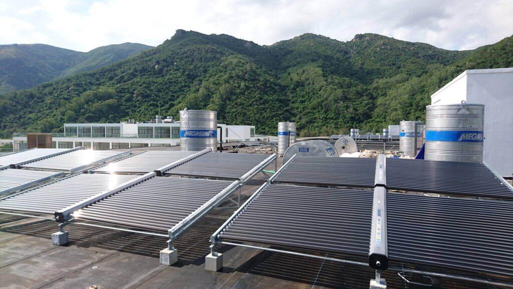 Dự án máy nước nóng năng lượng mặt trời cho khách sạn mũi lé Bình Thuận